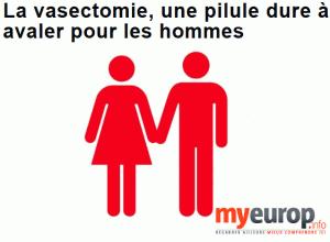Article de presse : La Vasectomie, une pilule dure à avaler pour les hommes ... dans chirurgie contraceptive article-myeurop.info_-300x220
